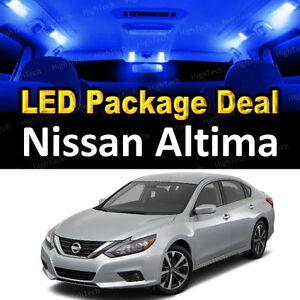 2017 Nissan Altima Interior >> Details About 5x Blue Led Lights Interior Package Deal For 2016 2017 Nissan Altima