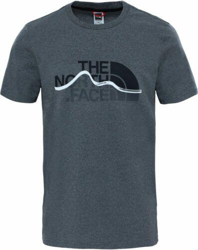 THE NORTH FACE Mountain Line T0A3G2JBV Baumwolle T-Shirt Kurzarm Shirt Herren