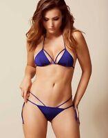 Agent Provocateur Fiorella Bikini In Blue - Ap Size 3 Top/ap Size 2 Brief -