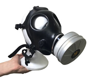 Kyng-Tactical-Israeli-Respirator-Gas-Mask-w-Military-Sealed-40mm-NATO-Filter-NBC