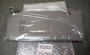 Genuine Toyota RAV4 LH Left Sun Visor Driver Side Sunvisor OEM Gray ... f2aa7e5fe5a