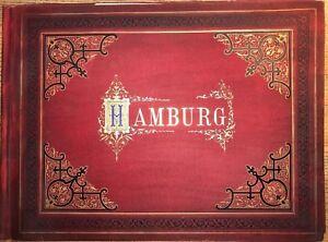 Hamburg-Photographien-Mappe-Verlag-Von-Strumper-amp-Co-Hamburg-1884