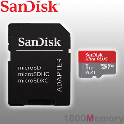 100MBs A1 U1 C10 Works with SanDisk SanDisk Ultra 200GB MicroSDXC Verified for Sony C1904 by SanFlash