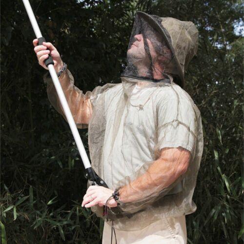 Coghlan/'s Bug Suit Pants /& Jacket Small Black Unisex Lightweight Mosquito Net