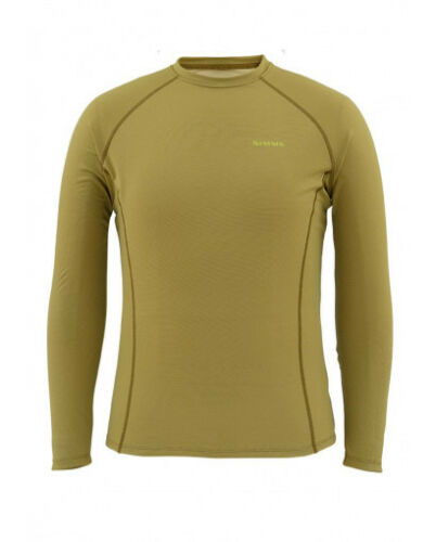 Simms Waderwick Core Crew Neck ~ Army Green NEW ~ Size Medium ~ CLOSEOUT