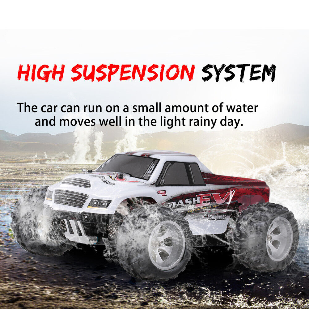 WLtoys A979B 1:18 RC Car 2.4G 4WD High Speed 70km/h Off-Road