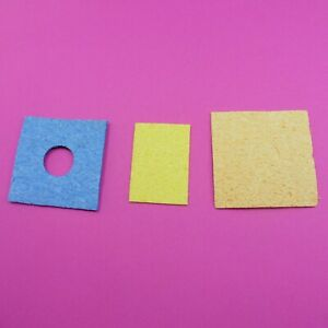 Pad for Cleaning Soldering Iron Tip Sponge 50.7mm x 35.5mm x 3mm Solder Iron
