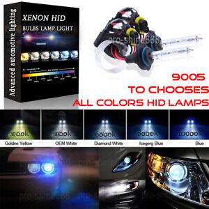 9005XS 9006XS 8000K Blue White Xenon HID High Low Beam Headlight Halogen Bulbs