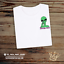 Spaced-Out-T-Shirt-Edgy-Hipster-Unisex-Gift-Festival-Funny-Weed-420-Alien-Blink thumbnail 1
