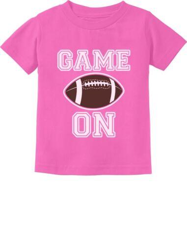 Gift For Football Lover Game On Fan Toddler Kids T-Shirt Kids Football Fan