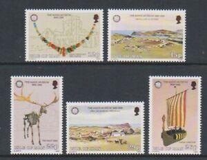 Isle-von-Mann-1986-Manx-Museum-Set-MNH-Sg-310-14