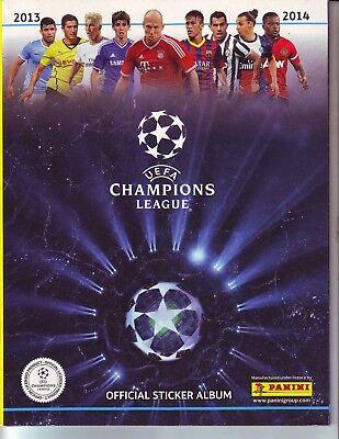 Champions League 2013-2014 Album Vuoto Panini