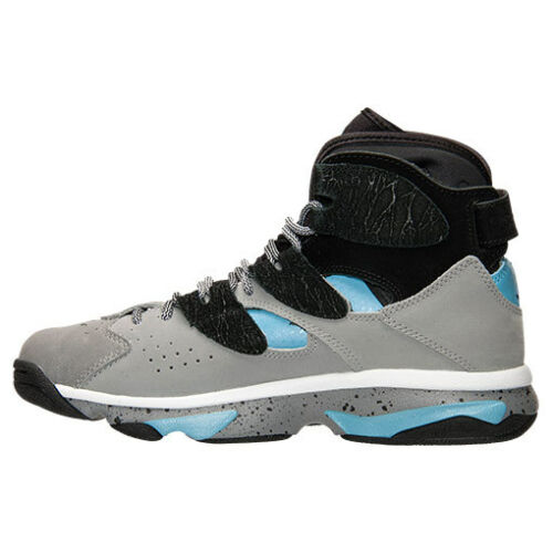 M REEBOK M41974 SHAQ ATTAQ Mn/'s Grey//Black//Blue Leather Basketball Shoes