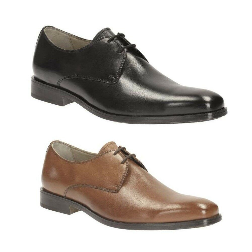 CLARKS Amieson Walk Mens Lace Up Leather Shoe