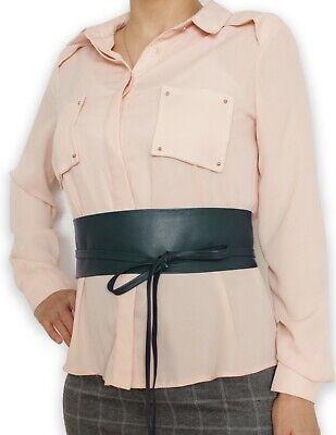 "NEW Plus Size VIKTOR SABO  Obi BROWN Lambskin For Waistline Up To 48/""//122 cm"