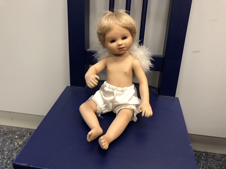 Gabriele Müller vinile bambola 26 CM. OTTIMO stato