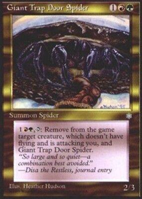 4x Giant Trap Door Spider MTG Ice Age NM Magic Regular