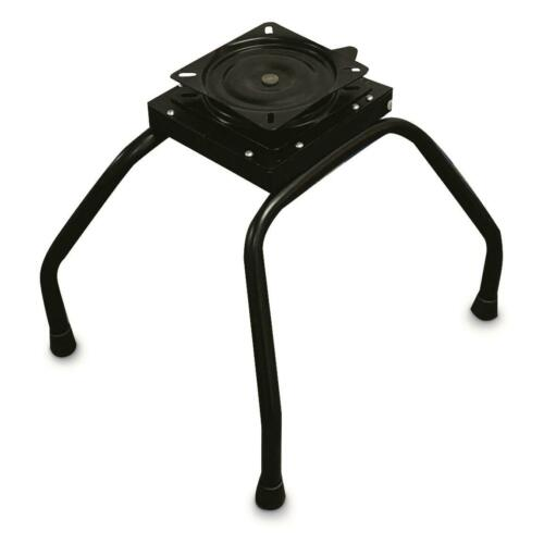 Portable Boat Seat Stand with Swivel Seat Clamp Heavy Duty Easy Bracket Release