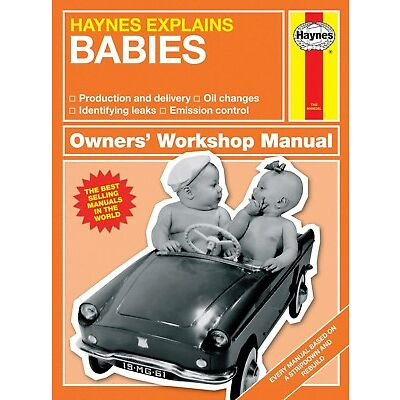 Haynes Explains Babies Manual H6102