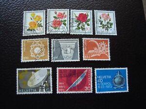 Switzerland-Stamp-Yvert-and-Tellier-N-914-A-923-Obl-A2-Stamp-Switzerland-Z