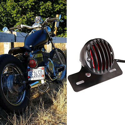 Universal Durable Metal Motorcycle License Plate Light Holder Tail Light Bracket Vehicles Number Plate Mount Bracket