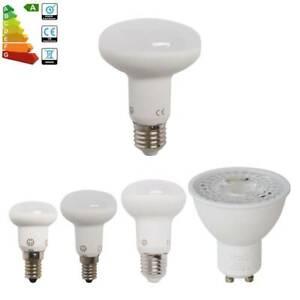 4-2-1x-E14-E27-GU10-LED-Reflector-Light-Bulb-R39-R50-R63-R80-LightBulbs-3w-10w