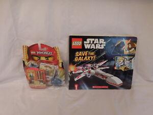 Lego 2255 Nib Ninjago Sensi Wu Figure Card Lego Star Wars Save The