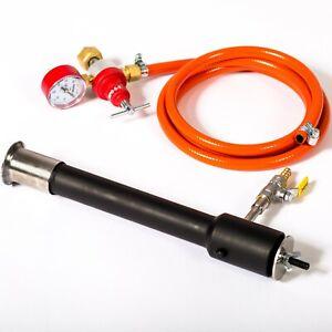 DFC-GAS-BURNER-Propane-Forge-Furnace-Foundry-Raku-Kiln-Blacksmith-Farrier-Knife