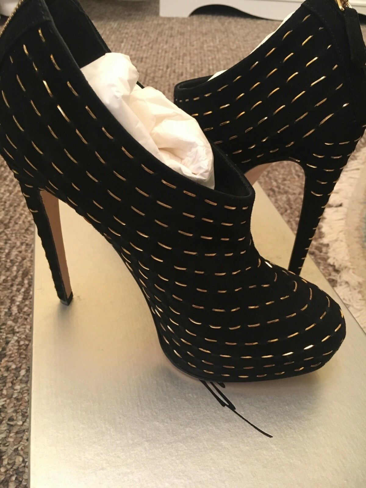 Brian Atwood 38.5 ankle stivali