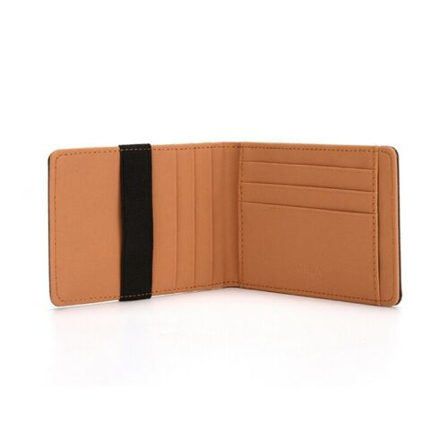 New Mens Wallet Prcatical Pocket Wallets Cash Money ID Card Holder RFID Blocking