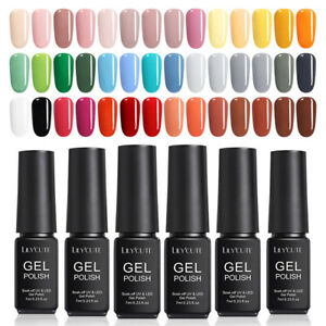 LILYCUTE-7ml-Colorful-UV-Gel-Nail-Polish-Soak-Off-Black-White-Gel-Varnish-Tool