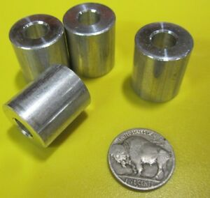 "Aluminum Spacer, NO. 5/16"" Screw, 3/4"" OD x .315"" ID x 7/8"" Length, 4 pcs"
