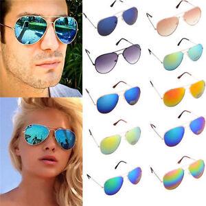 Unisex-Vintage-Retro-Women-Men-Glasses-Stylish-Mirror-Lens-Sunglasses-NG