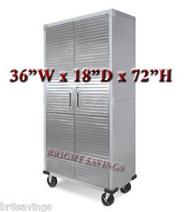 Image Is Loading Ultra Heavy Duty Garage Metal Storage File Rolling