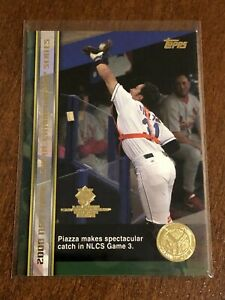 2000-World-Series-Topps-Baseball-Base-Card-62-Mike-Piazza-New-York-Mets