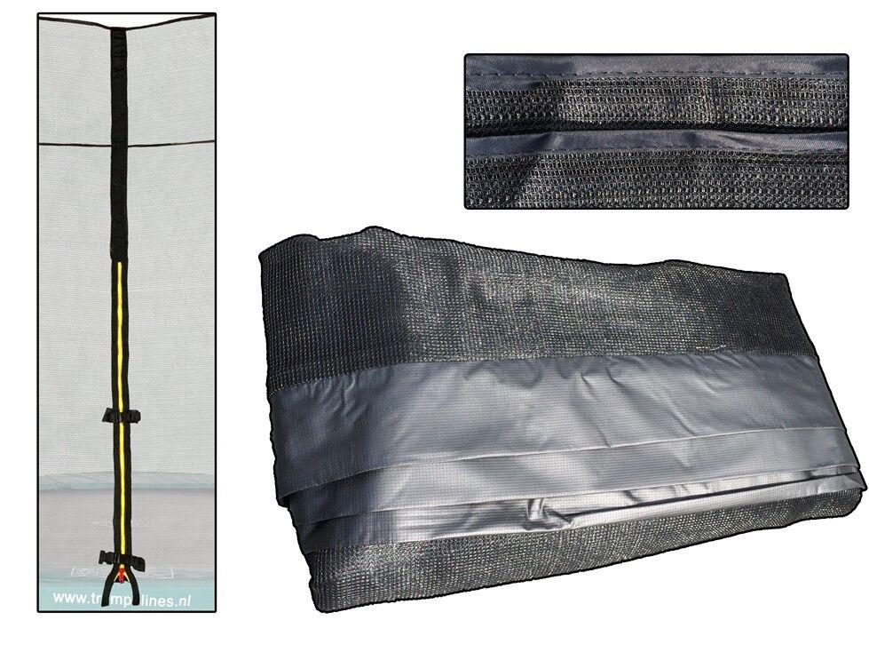 Trampolin Ersatznetz Sicherheitsnetz Ø305 PVC sleefs Reißverschluss Reißverschluss Reißverschluss 6 stange 61d0f0