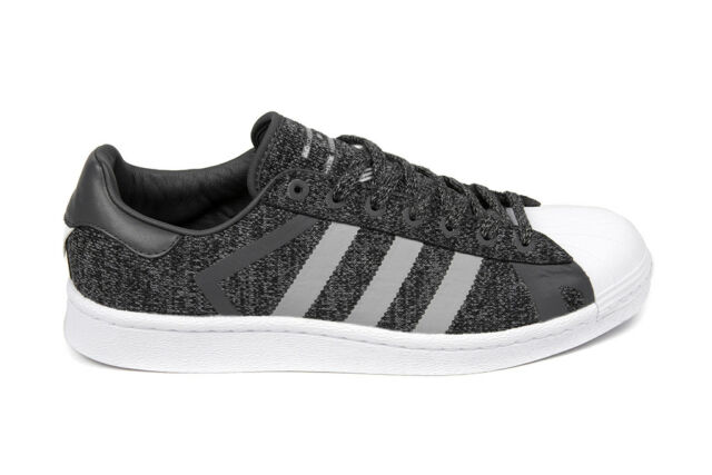 reputable site d3f1f b4f98 Adidas Originals x White Mountaineering Superstar in Core Black/Grey AQ0351  BNIB