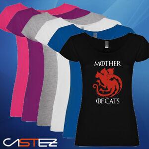 Camiseta Mother De Cargando Se Of La Dragons Está Gatos Mujer Imagen Madre IpSgwa7Rqx