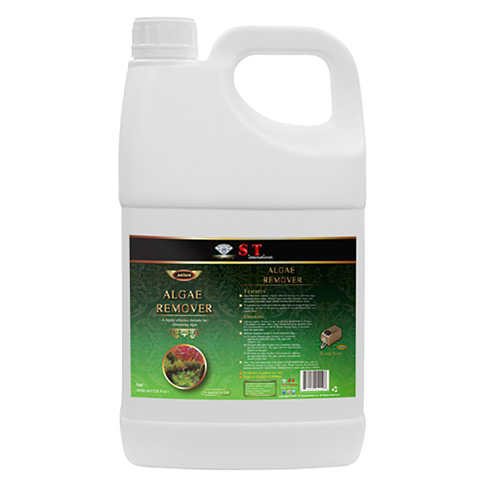 ST International AQUARIUM ALGAE ALGAE ALGAE REMOVER Safe and Effective Water Treatment 7788e7