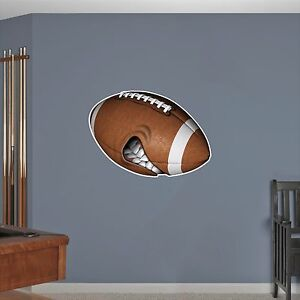 Details about Mean Football Wall Decal : NFL High School Graphic Sticker  Kids Boys Room Decor