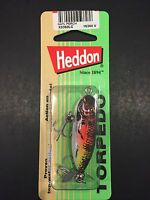 Heddon Tiny Torpedo 1 7/8 1/4oz Natural Perch X0360lc