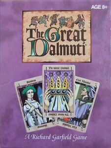 The Great Dalmuti, Card Game, New by Hasbro, English Edition