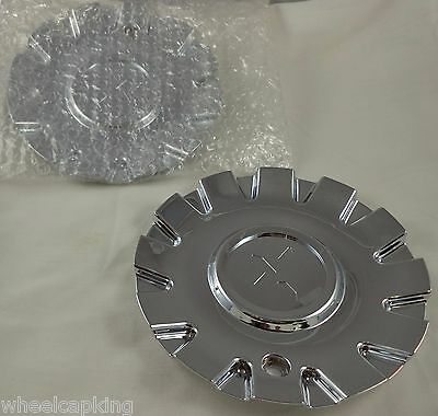 Starr Alloy 288 Spyder CAP288L160 Chrome Wheel Center Cap Starr Wheels