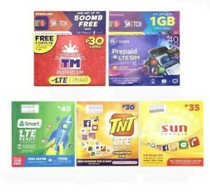 Philippines-Prepaid-Sim-Pre-Activated-Sim-Card-Shipping-Abroad-Available