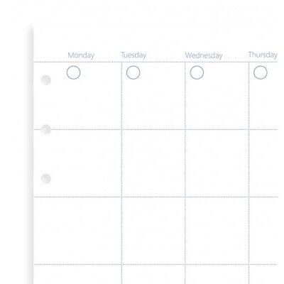 Filofax - Personal Libro A Clip Senza Data Mese Planner- Cancelleria Ricariche