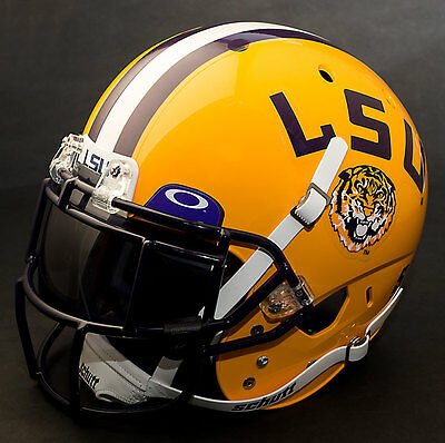 Schutt NCAA LSU Tigers On-Field Authentic XP Football Helmet