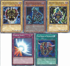 Rare Hunters Lumis and Umbra Deck Final Deck - Mask of Restrict - NM - 40 cards