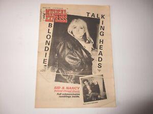 BLONDIE-New-Musical-Express-February-4-1978-TALKING-HEADS-Rush-SEX-PISTOLS