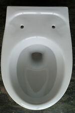 Wand WC Tiefspüler weiss  NEU wandhängend