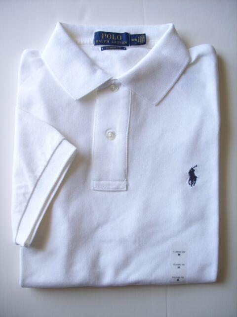 b5664a2e ... discount polo by ralph lauren size l 100 cotton ss white classic mesh  shirt 1eb0c bee11